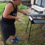 調理(焼肉)