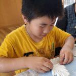 紙粘土体験
