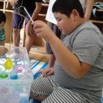 夏祭り(水風船釣り)
